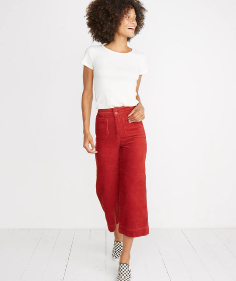 Tally Pant in Rosewood