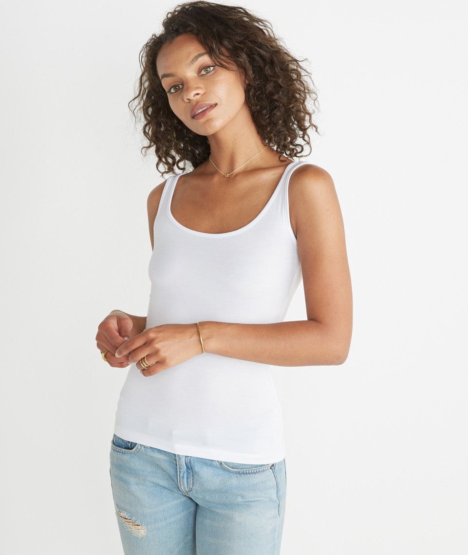 Tank Cami in Pure White