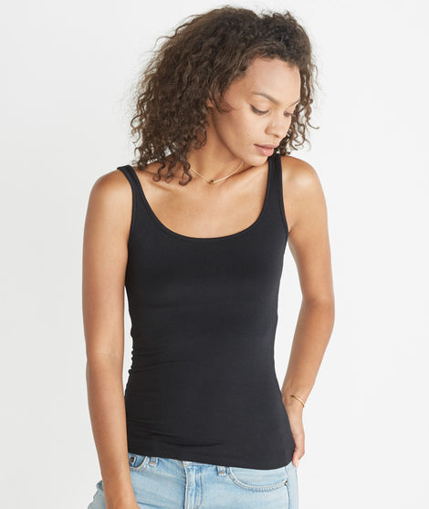 Tank Cami - Pure Black