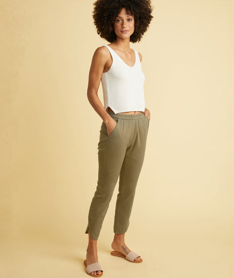 Allison Pant in Dusty Olive