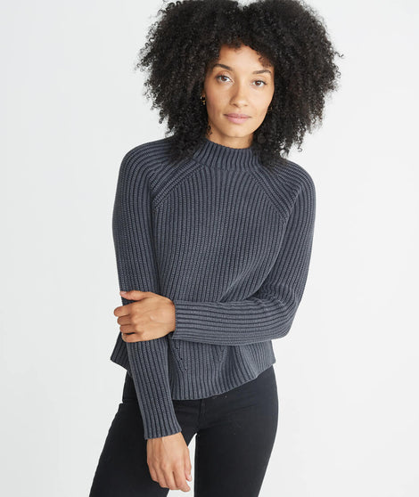 Vera Mock Neck Sweater