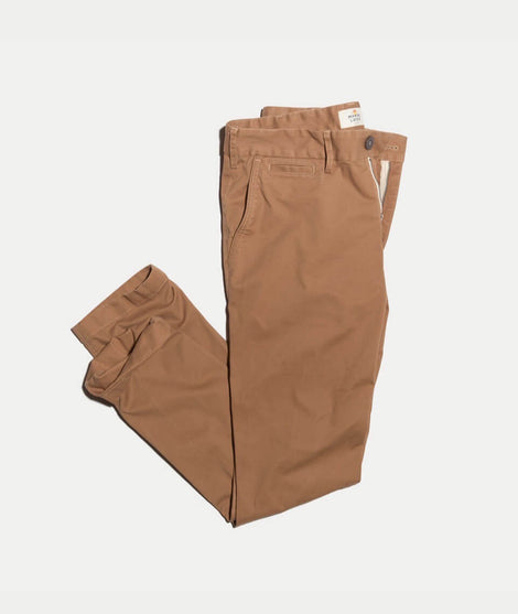 Walk Pant in Deep Khaki