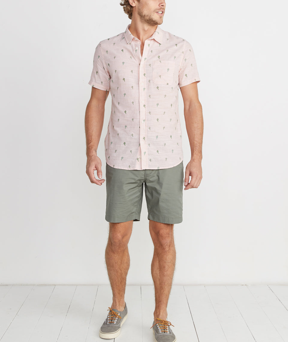 Ward Short Sleeve Button Down