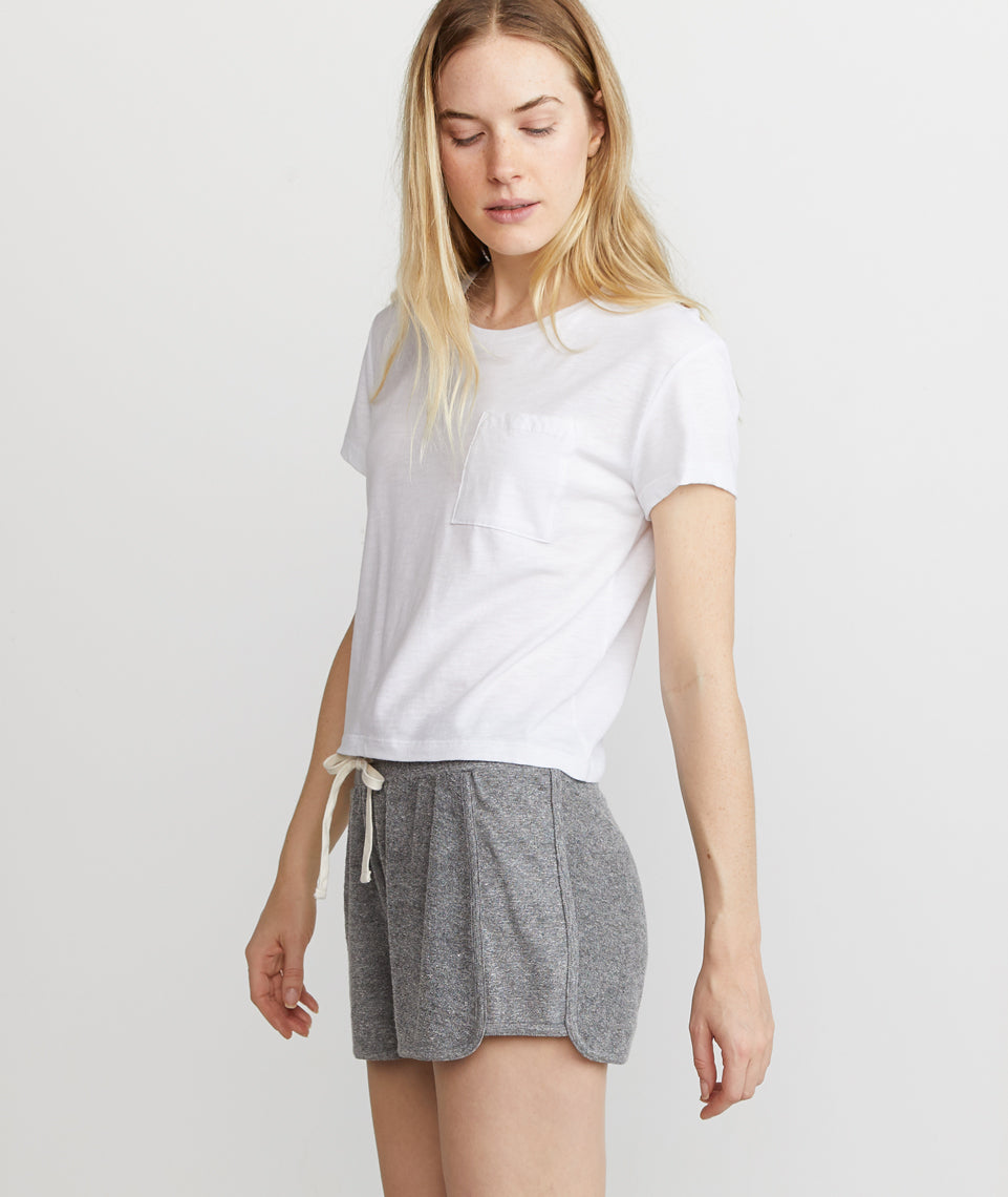 Weekend Short in Heather Grey