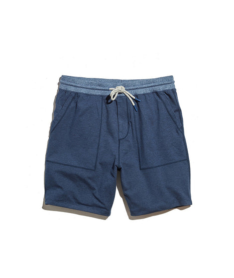 Yoga Short in Navy Heather