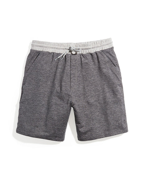 Sport Yoga Short in Dark Heather Grey