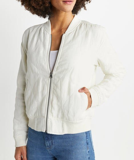 York Quilted Bomber