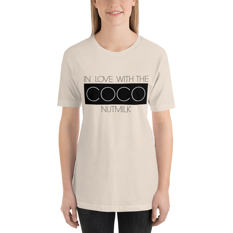 In Love With The CocoNutMilk Short-Sleeve Unisex Tee