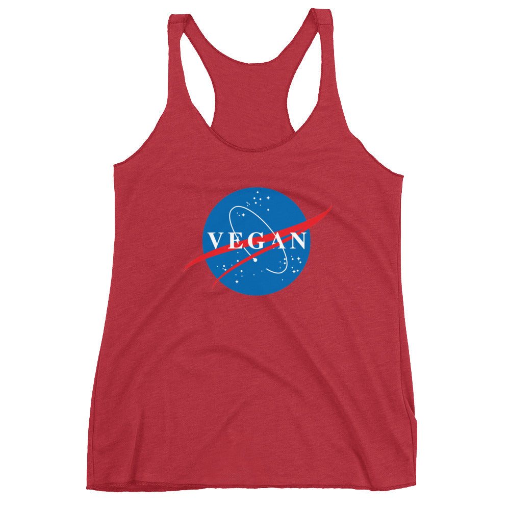 Nasa Spin-Off Women's Racerback Tank