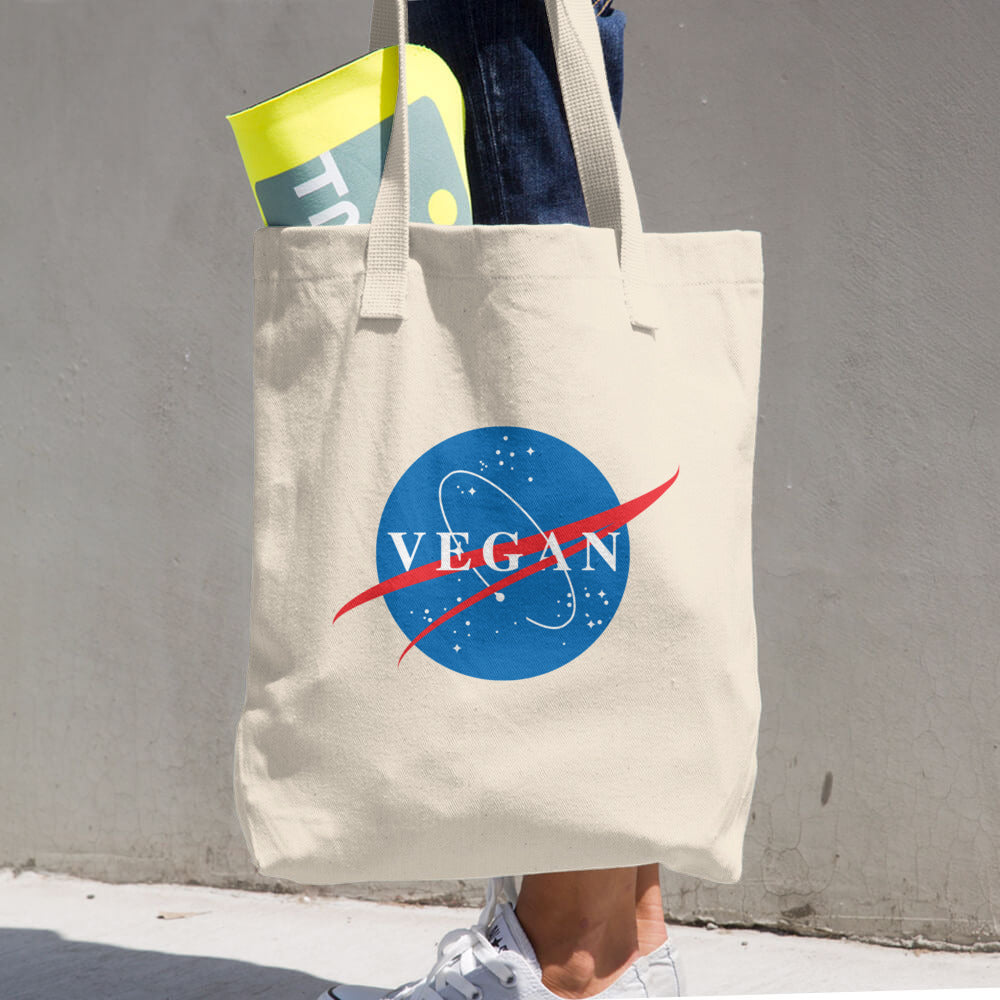 Vegan Nasa Spin-Off Tote + Shopping Bag