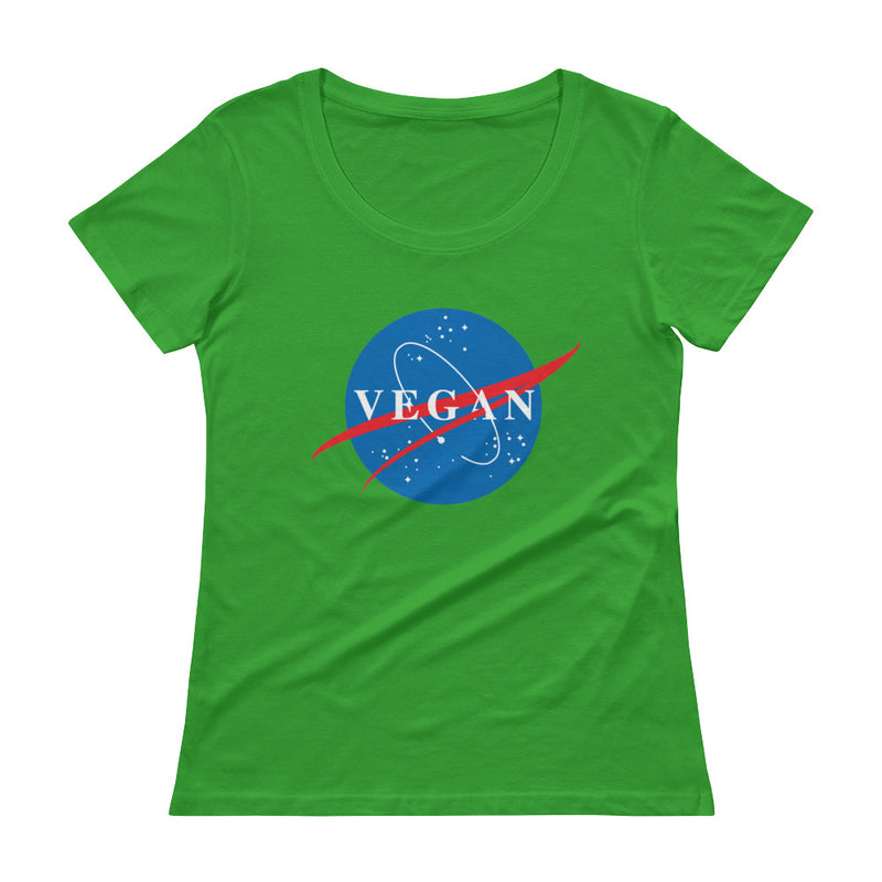 Nasa Spin-Off Ladies' Scoopneck Tee