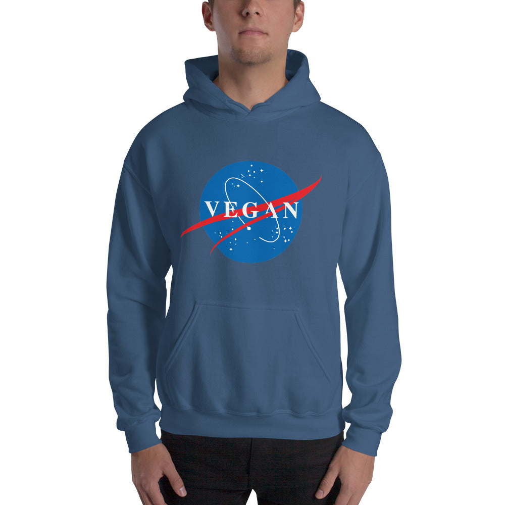 Nasa Spin-Off Hooded Unisex Sweatshirt