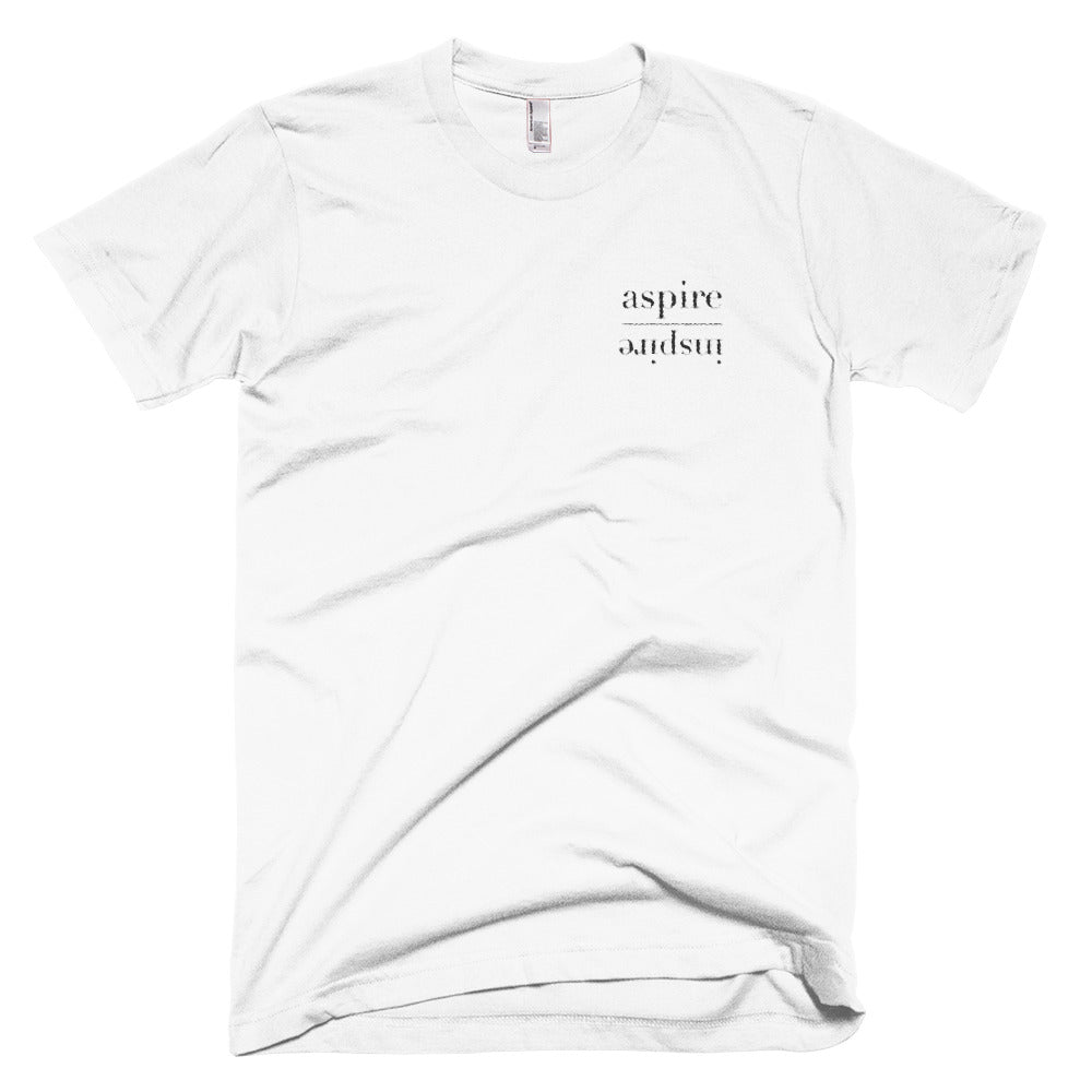 Embroidered Aspire Inspire Unisex Tee