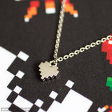 8Bit Heart Necklace