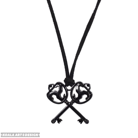 Black Keys Necklace