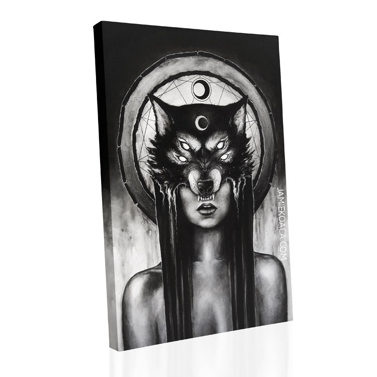 The Huntress Replica Canvas Made To Order