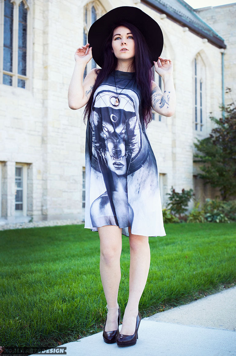 The Huntress Shift Dress