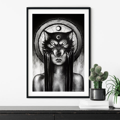 The Huntress Print