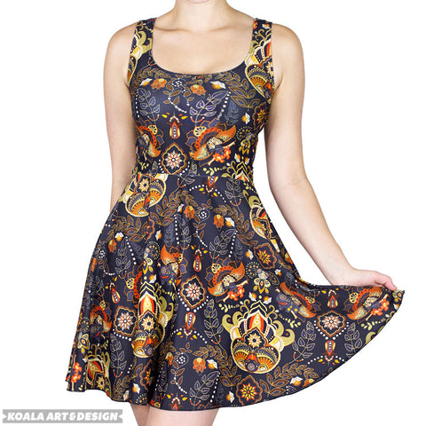 Poke'Paisley Dress