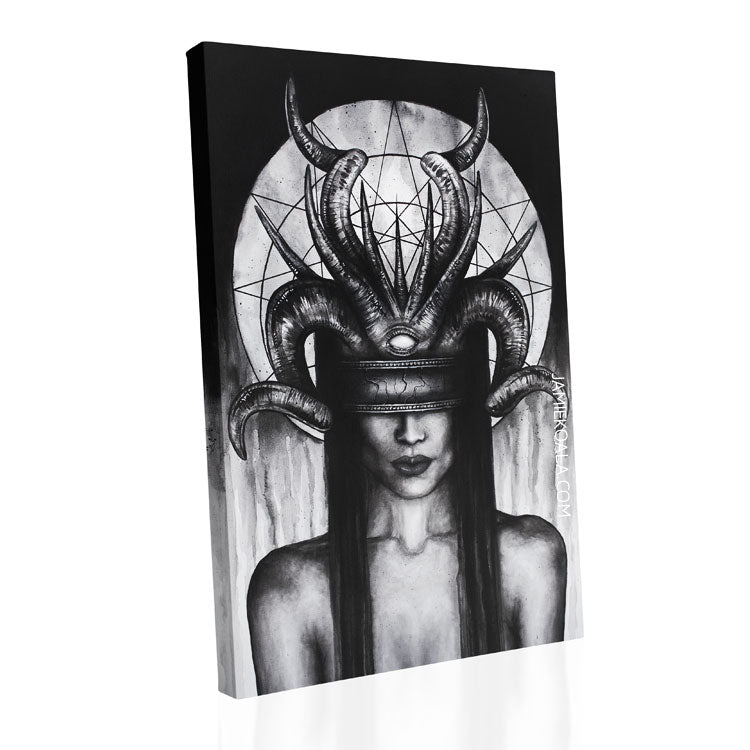 The Seeker Replica Canvas 24x36 inch