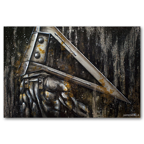 Silent Hill Pyramid Head Print