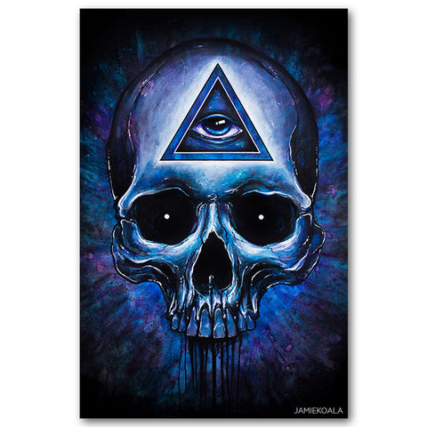 Third Eye Canvas Print 24x36inch