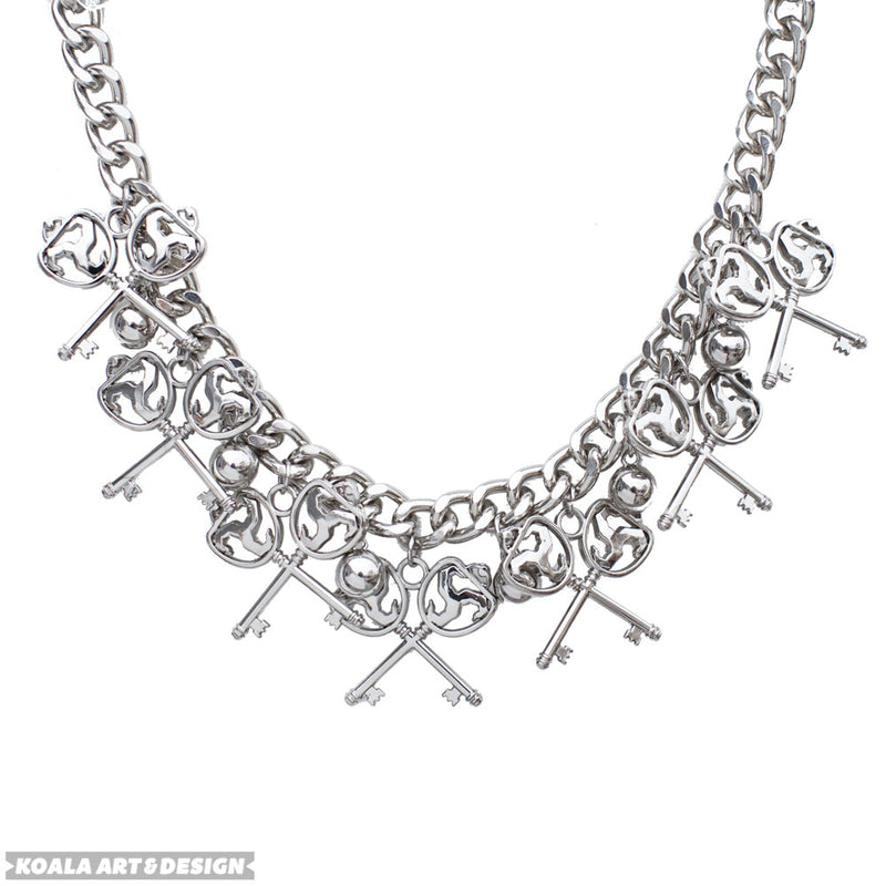 Heavy Metal Choker Necklace