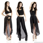 Black Waist Cape Belt