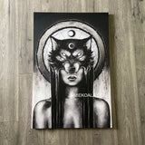 The Huntress Replica Canvas 24x36 inch