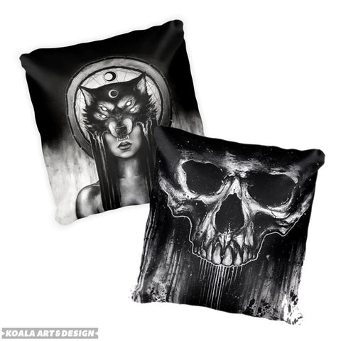 Made To Order Double Sided Art Pillow