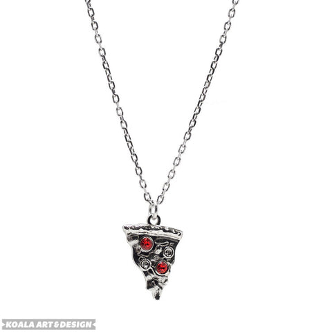 Pizza Choker Necklace