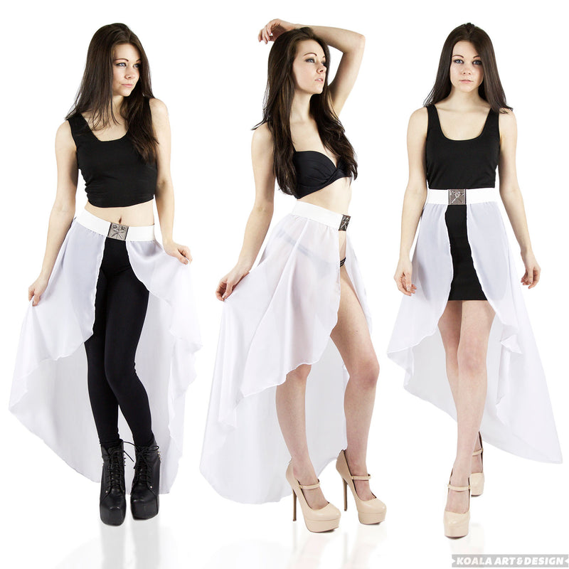 White Waist Cape Belt