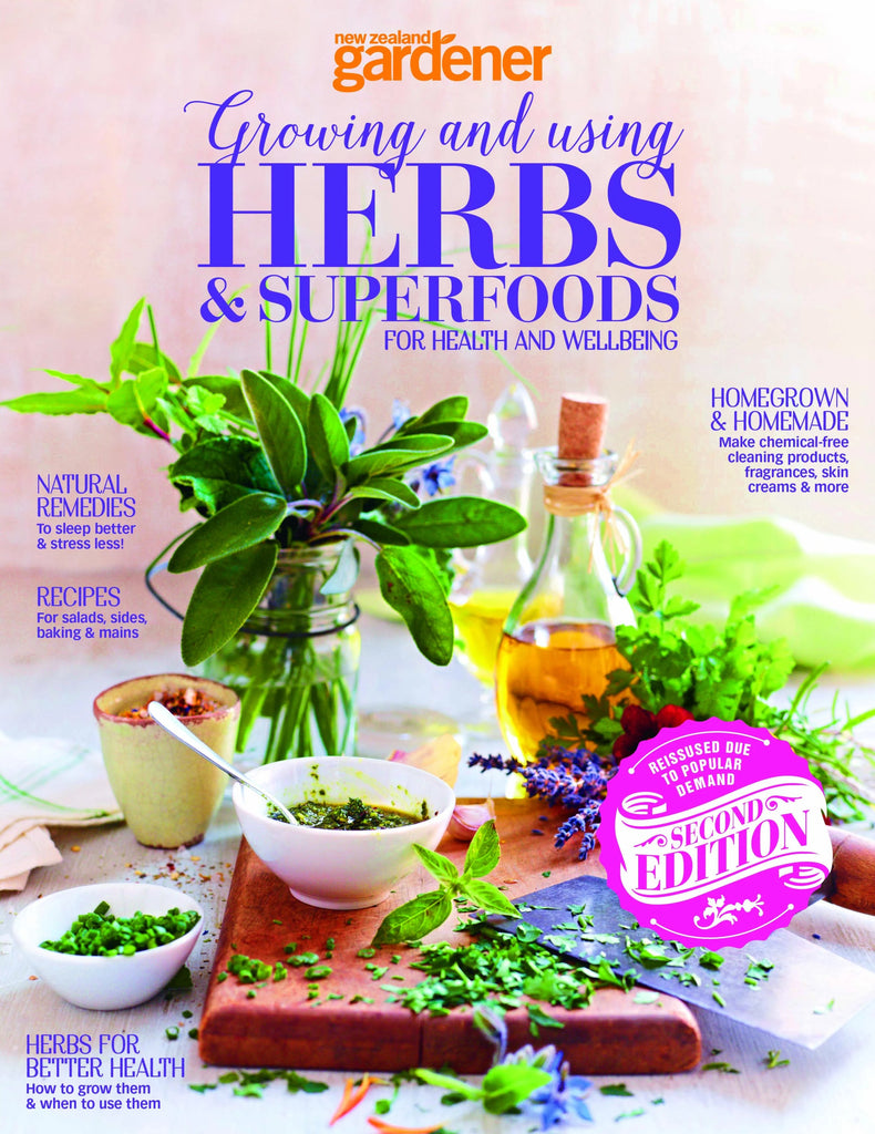 NZ Gardener: Special edition Herbs & Superfoods (early bird pricing)