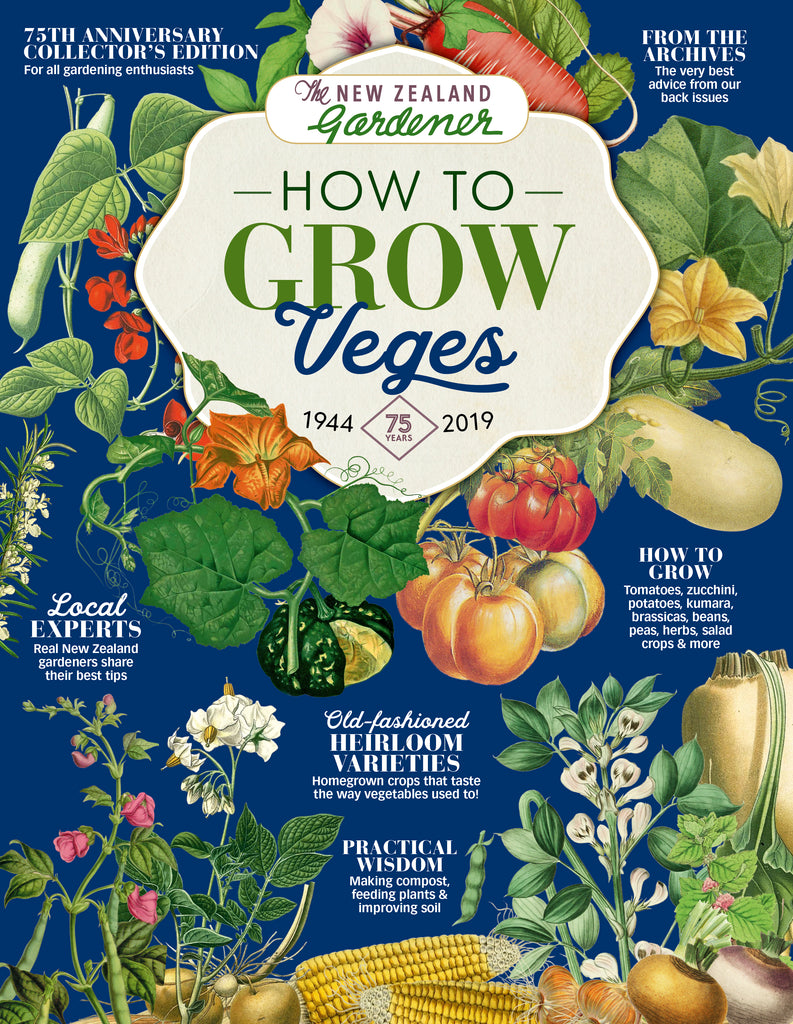 NZ Gardener - How to Grow Vegetables: Tips from our archives 1944-2019