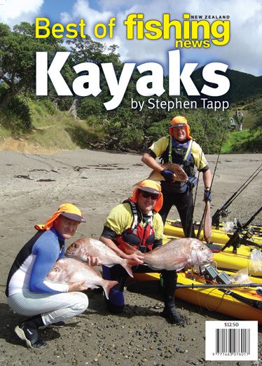 Best of NZ Fishing News - Kayaks - Special Edition