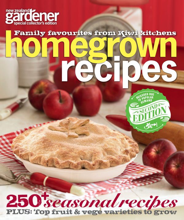 NZ Gardener: Homegrown Recipes