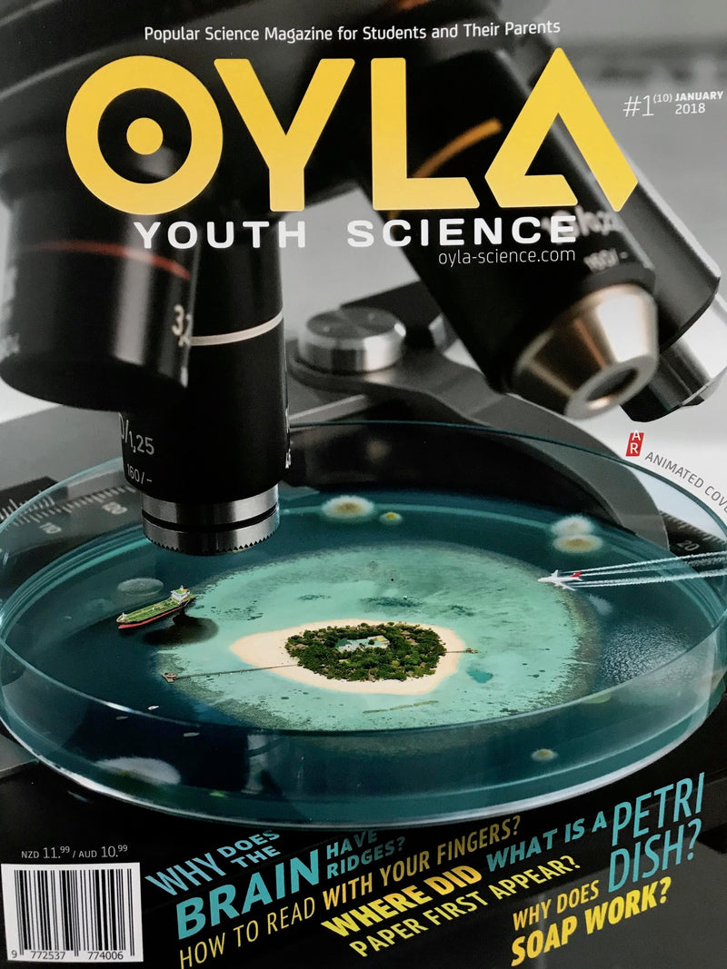 OYLA Youth Science Magazine