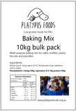 Bulk Pack Baking Mix 10kg