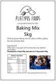 Platypus Foods Baking mix 5kg