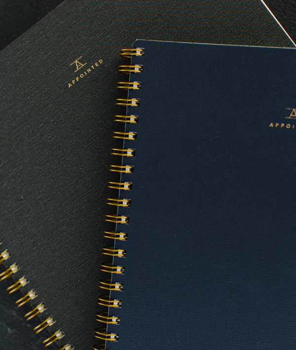 The signature Appointed notebook
