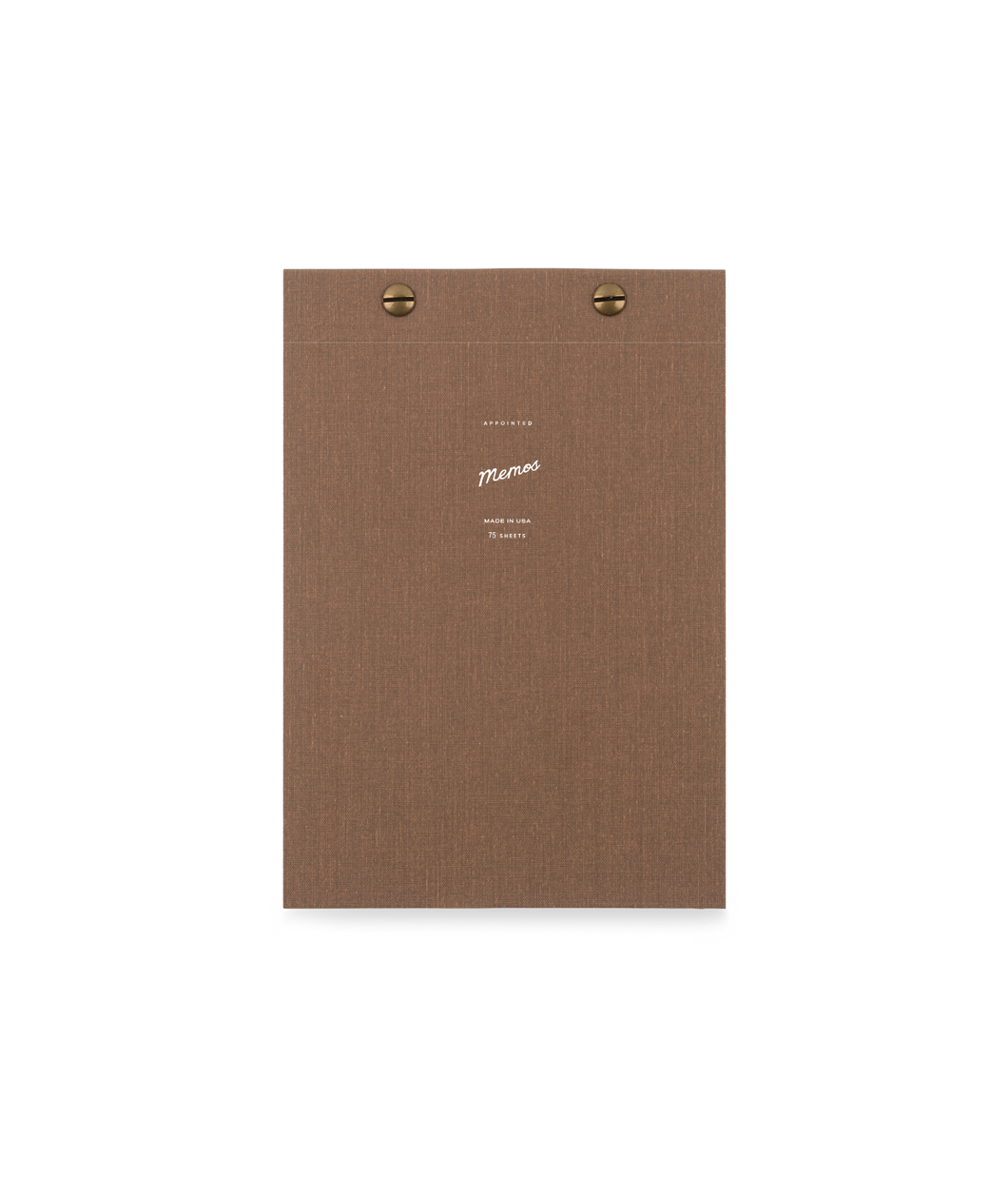 5th-Anniversary Memo Notebook - Notebook - Appointed