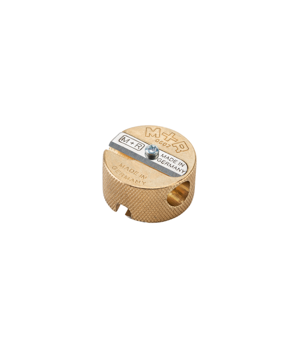 Brass Round Sharpener -  - Appointed