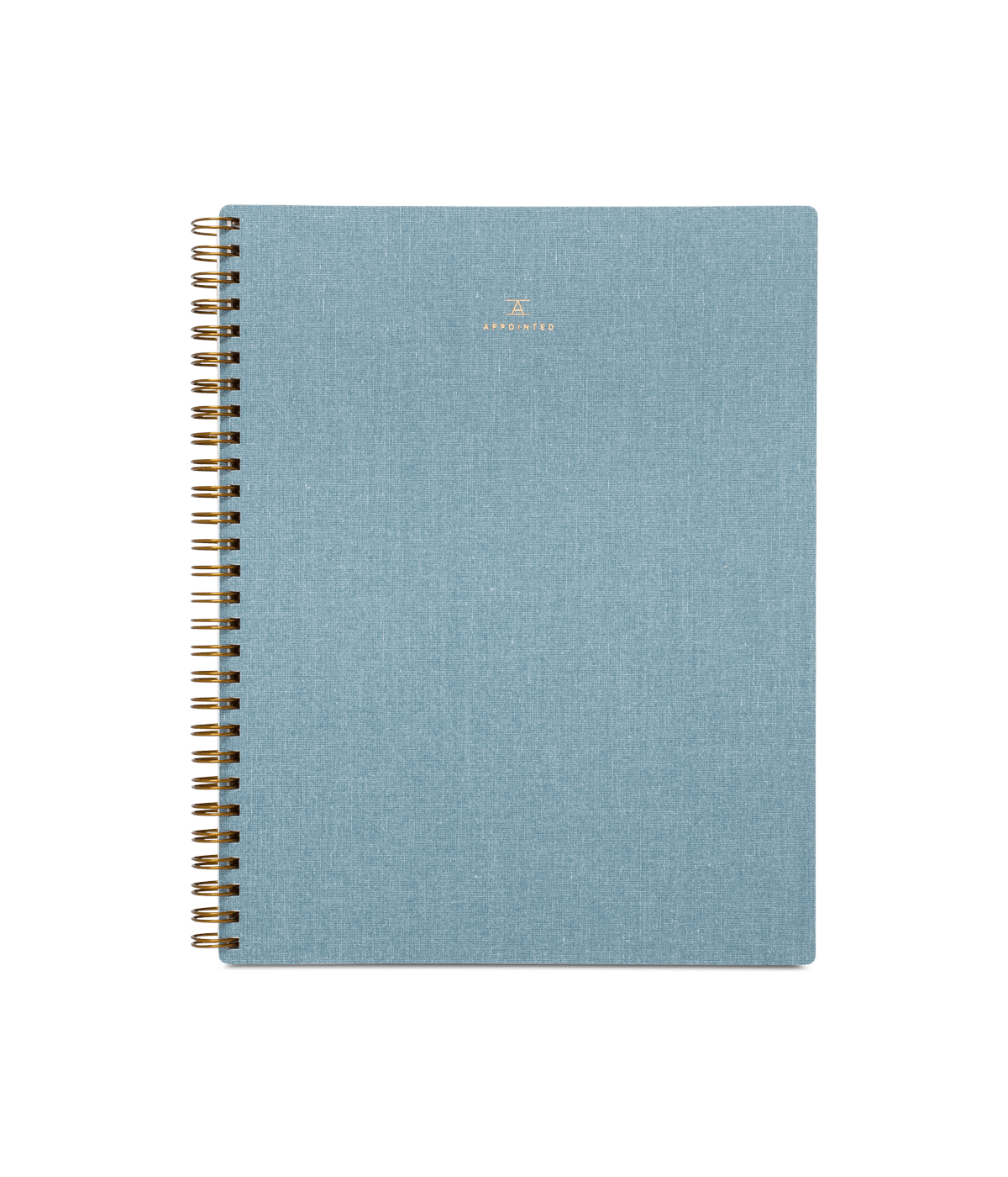 notebook  u2014 chambray blue  u2013 appointed