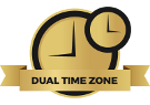 Dual time zone