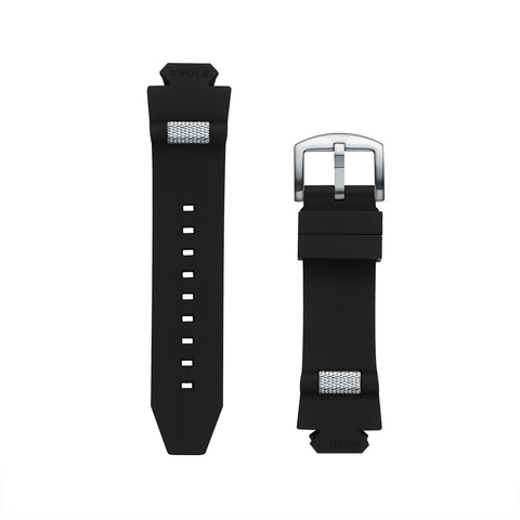Band Kit - Black with Silver Buckle for Original 43mm