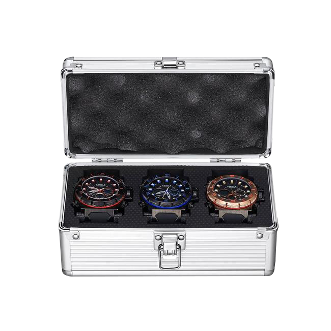 3 watch case (box only) For Right Crown Watches