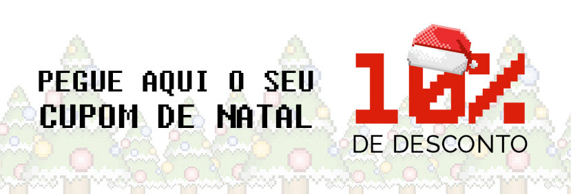 Cupom de Natal - Skins para Video Game