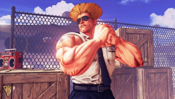 Guile no Street Fighter 5 - Pop Arte Skins