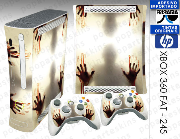 XBOX 360 FAT SKIN - Fear The Walking Dead