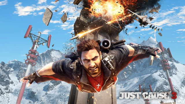 POSTER - Poster Just Cause 3 #B - Pop Arte Skins Adesivos
